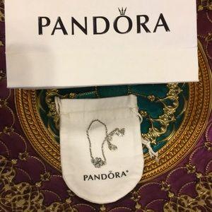 Pandora clover bracelet.